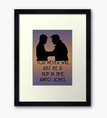Blip In Time Framed Print