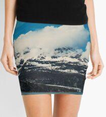 Alaska Mountain Mini Skirt