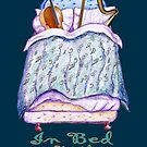 In Bed with Music - Cello and Harp by didielicious