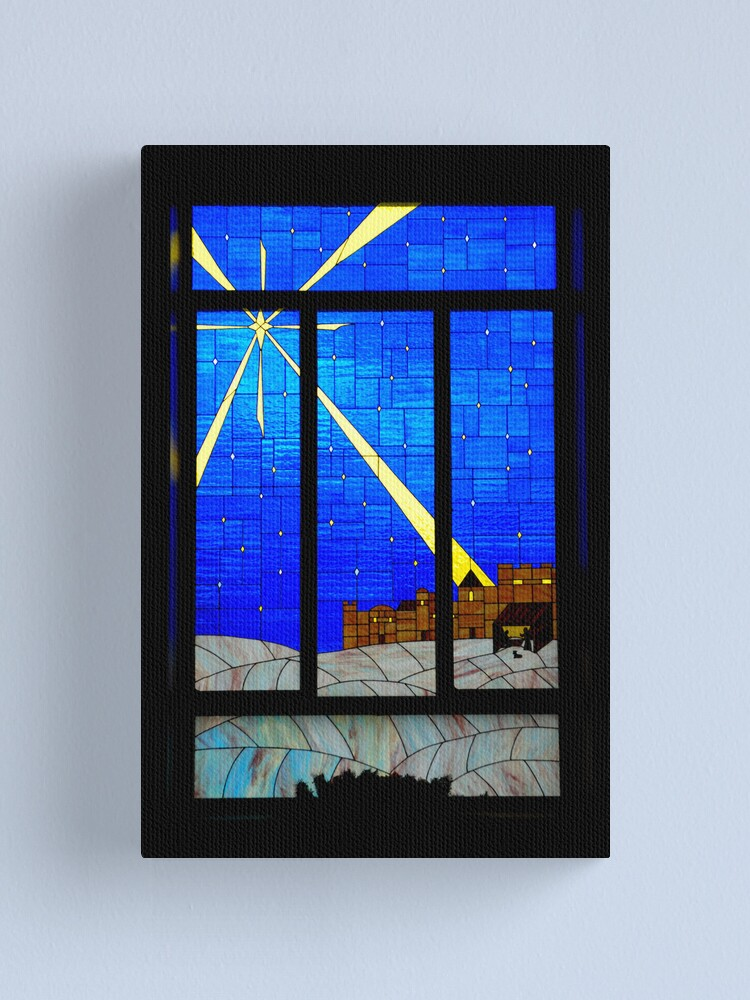 Alternate view of Panes of Glass Canvas Print