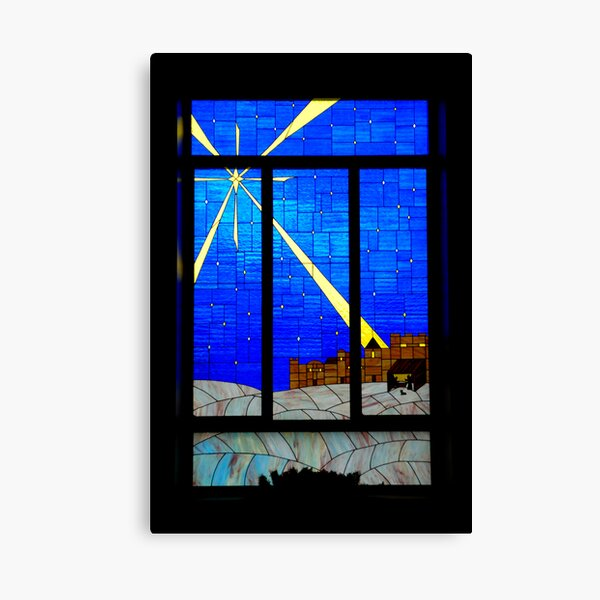 Panes of Glass Canvas Print