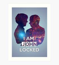 Johnlocked Art Print