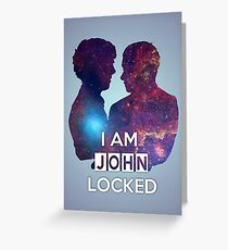 Johnlocked Greeting Card