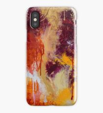 Bold Abstract - Citrus iPhone Case/Skin