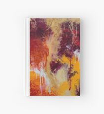 Bold Abstract - Citrus Hardcover Journal
