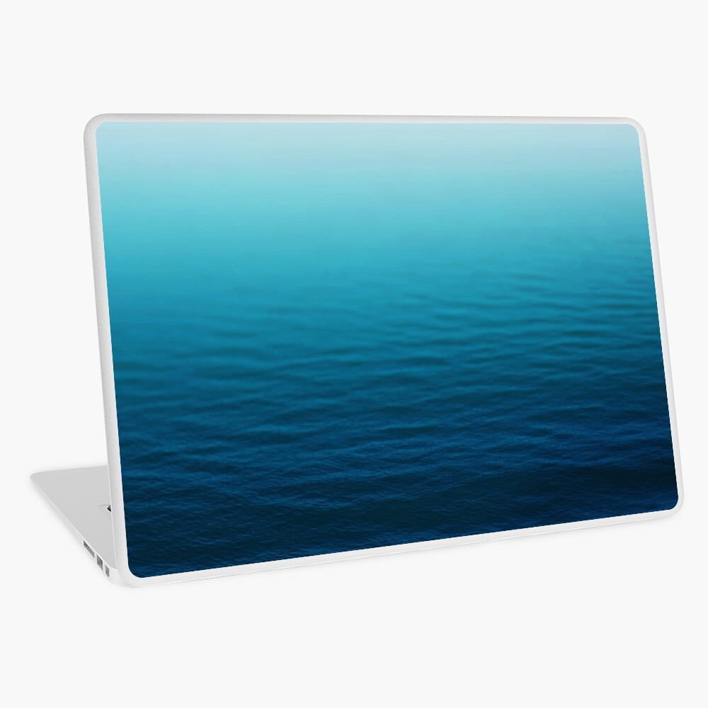 Deep Blue Laptop Skin