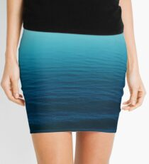 Deep Blue Mini Skirt