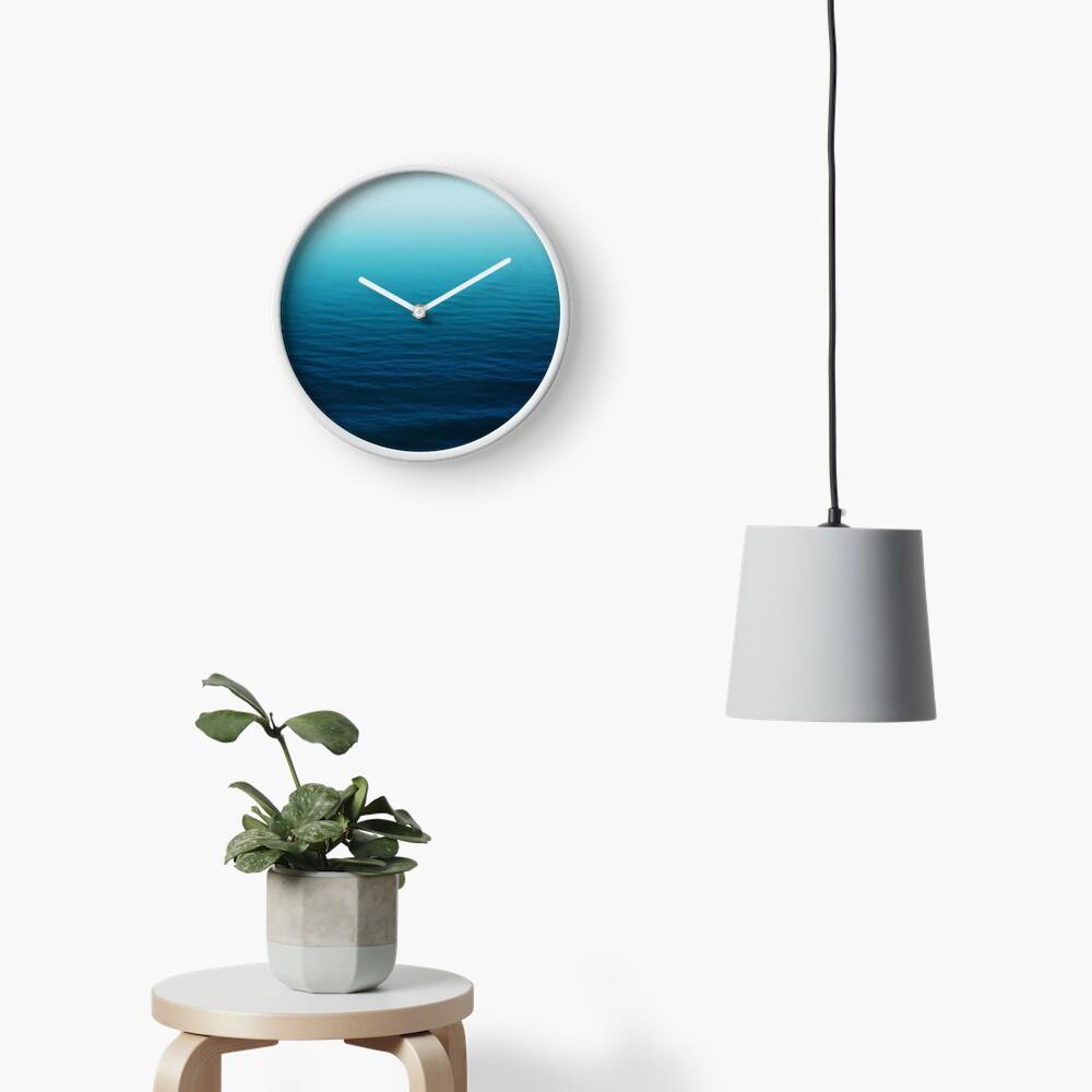 Azul profundo Reloj