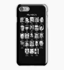 Serial Killer ABC's iPhone Case/Skin