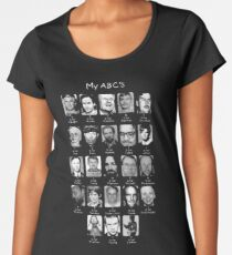 Serial Killer ABC's Women's Premium T-Shirt