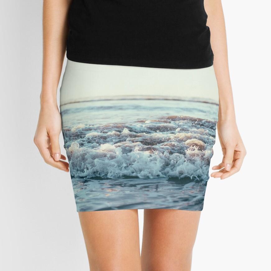 Pacific Ocean Mini Skirt