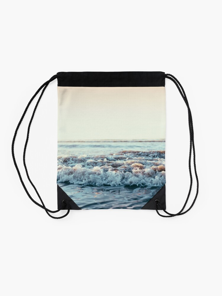 Alternate view of Pacific Ocean Drawstring Bag