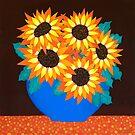 Mel's Sunflowers by Lisafrancesjudd