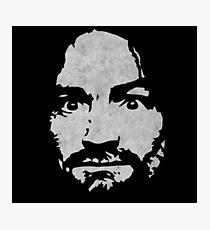 Charles Manson Photographic Print