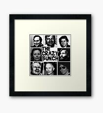 The Crazy Bunch Framed Print