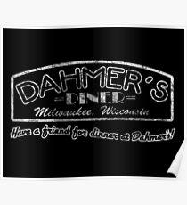 Jeffrey Dahmer - Dahmer's Diner Poster