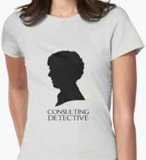 Consulting Detective Women's Fitted T-Shirt