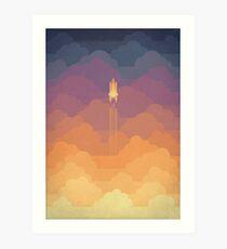Wolken Kunstdruck