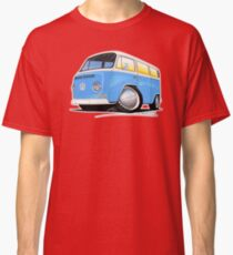 VW Bay (Early) Light Blue Classic T-Shirt