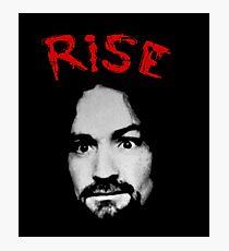 Charles Manson - Rise Photographic Print