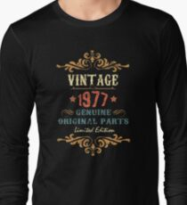 40th Birthday Tshirt Vintage 1977 Genuine Original Parts Limited Edition  T-Shirt