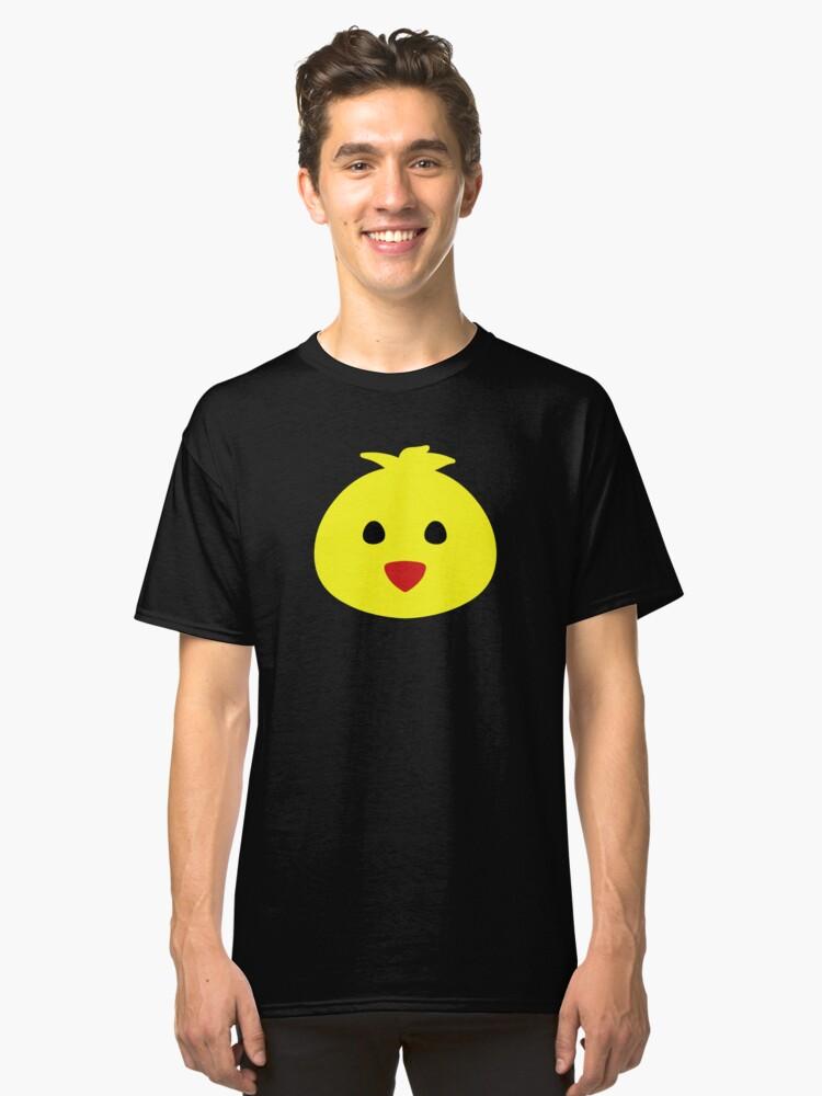 easter chick Classic T-Shirt Front