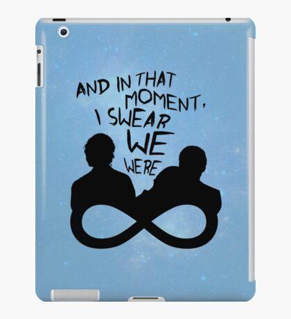 I Swear We Were Infinite iPad Case/Skin
