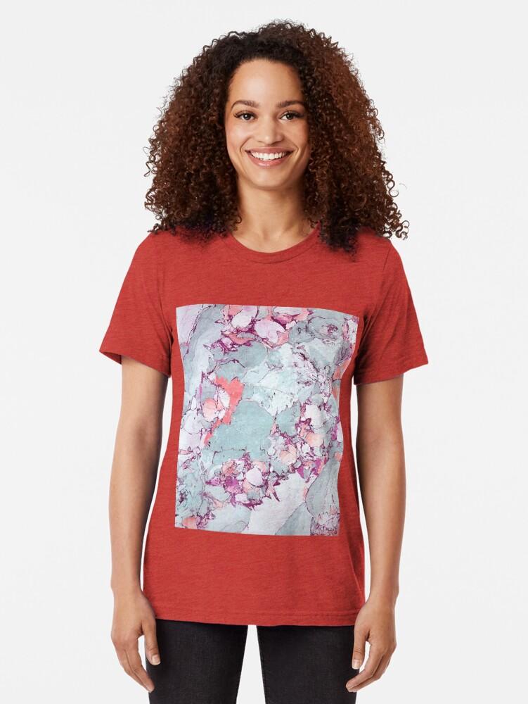 Alternative Ansicht von Marmor Art V13 #redbubble #muster #home #tech #lifestyle Vintage T-Shirt