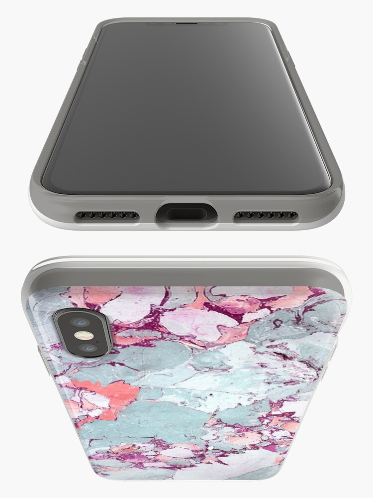 Alternative Ansicht von Marmor Art V13 #redbubble #muster #home #tech #lifestyle iPhone-Hülle & Cover