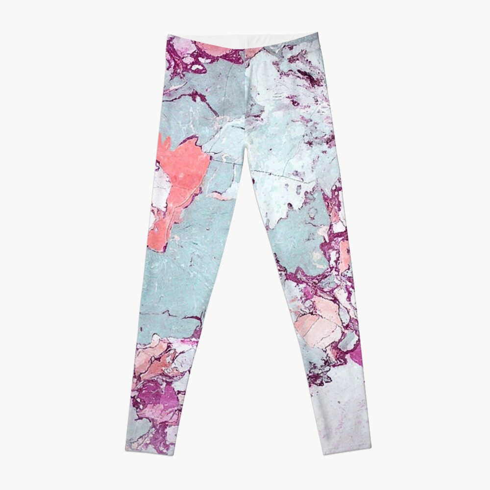 Marble Art V13 #redbubble #pattern #home #tech #lifestyle Leggings