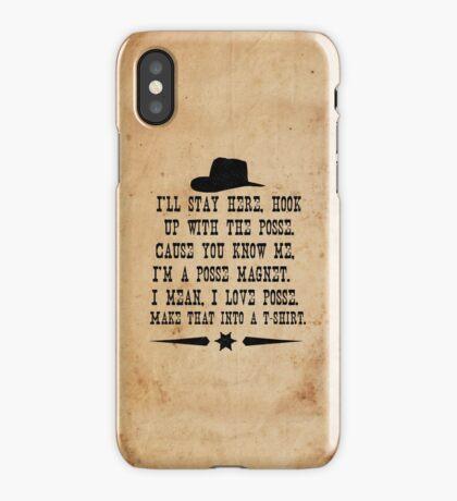 I Love Posse iPhone Case/Skin