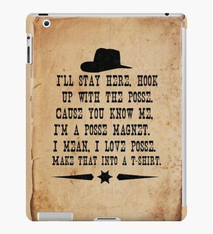 I Love Posse iPad Case/Skin
