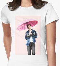 Chanyeol  - EXO Womens Fitted T-Shirt