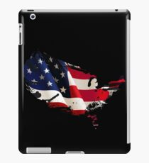 Patriot American Map Flag iPad Case/Skin