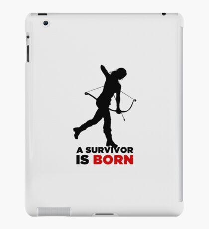 A Survivor is Born [black] iPad Case/Skin
