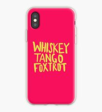 Whiskey Tango Foxtrot - Color Edition iPhone Case
