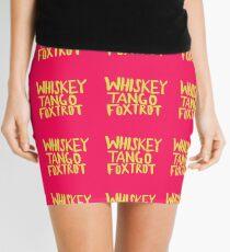 Whiskey Tango Foxtrot - Color Edition Mini Skirt