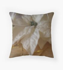 headpiece April  Throw Pillow