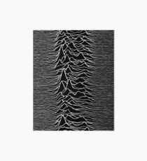 CP 1919 - Joy Division Unknown Pleasures: White on clear Art Board