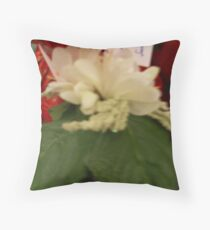 beauty of christmas in the eyes of the beholder Throw Pillow