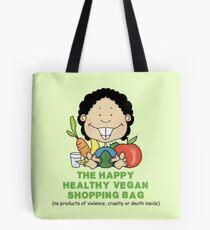 THE HAPPY HEALTHY VEGAN SHOPPING BAG Tote Bag
