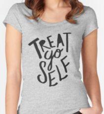 Treat Yo Self II Women's Fitted Scoop T-Shirt