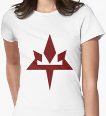 aether Womens Fitted T-Shirt