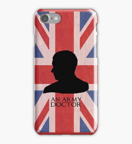 An Army Doctor. iPhone Case/Skin