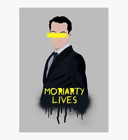 Moriarty Lives Photographic Print