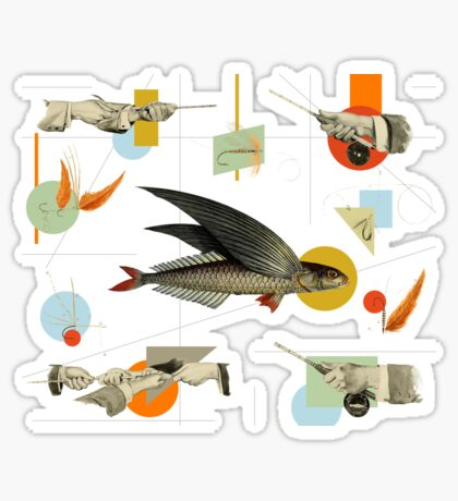 FLY FISH FLY Sticker