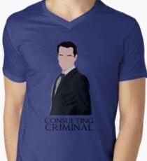Consulting Criminal Men's V-Neck T-Shirt