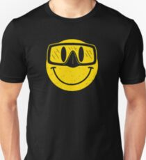 Smiley Goggles Face Unisex T-Shirt