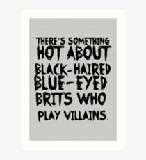 British Villains Art Print