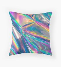 holographic Throw Pillow